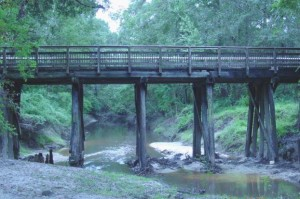 Tammany Trace Bridge over Abita River