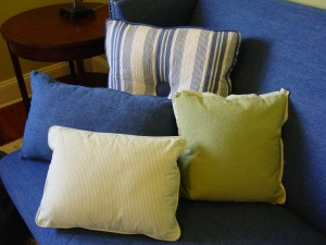 Kid's Lounge - Custom Pillows for Sectional Sofa