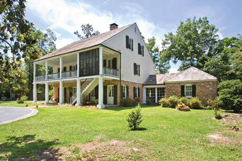 18 design features of a hays town style houses for Home plans louisiana