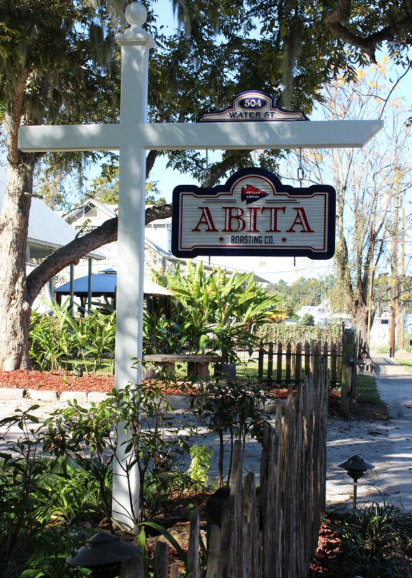 Sign; Abita Roasting Co.