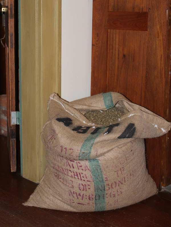 Burlap Sack; Coffee; Abita Roasting Co.