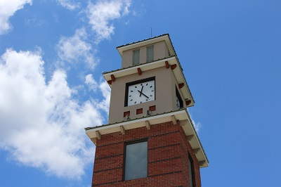 Covington Trailhead Clock Tower