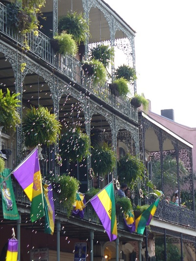 New Orleans, French Quarter, Mardi Gras