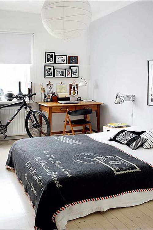 Bedroom with Bike