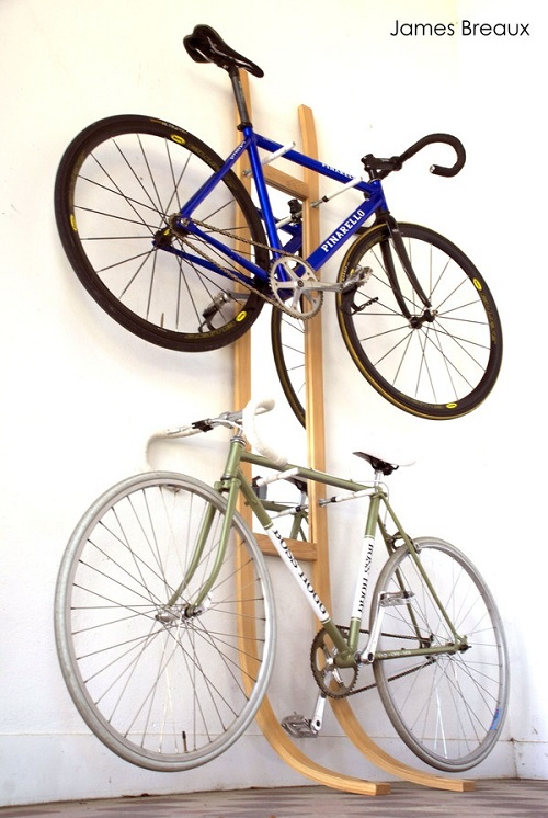 Bike rack by James Breaux