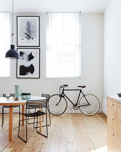 Bike in Apartment