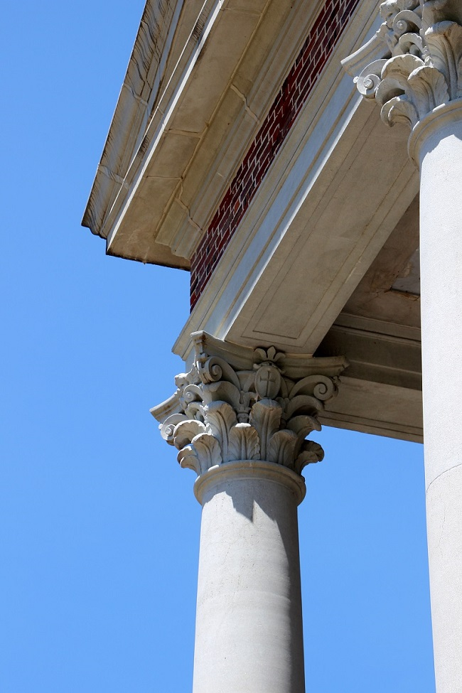 St. Joseph Abbey Church column detail