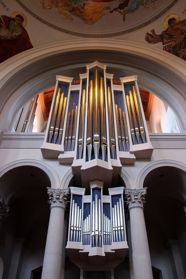 Dobson Tracker Opus 73 pipe organ in St Joseph Abbey Church