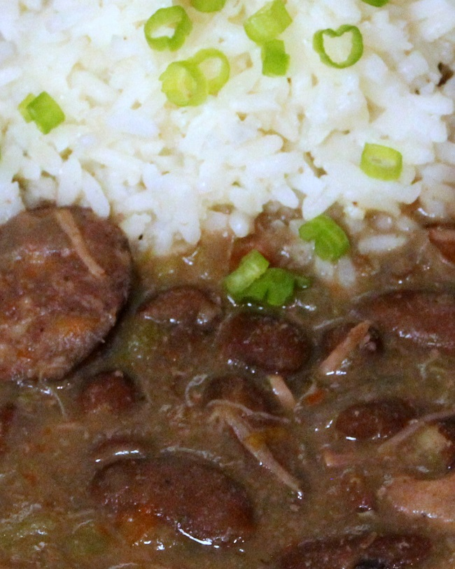 Red Beans and Rice with Meat