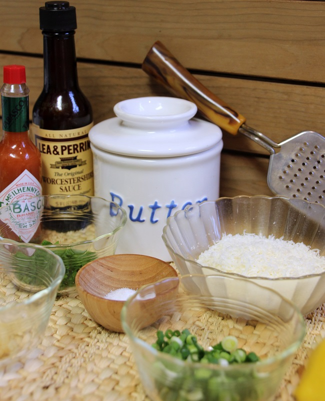 Ingredients for Cooking with The Oyster Bed