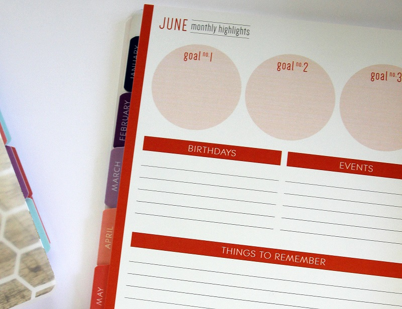 Personal Planner - Plum Paper Planner Monthly Highlights