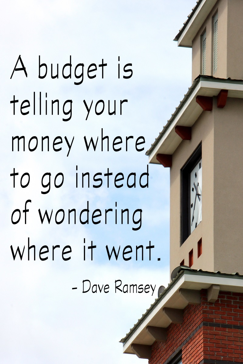 Personal Planner Budget Quote by Dave Ramsey