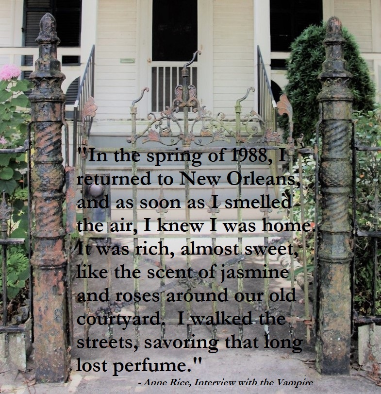 Quote by Anne Rice - In the spring of 1988, I returned to New Orleans