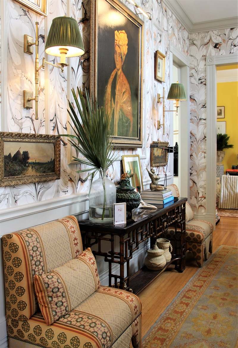 Traditional Home's Southern Style Now Showhouse in New Orleans, Foyer by Melissa Rufty