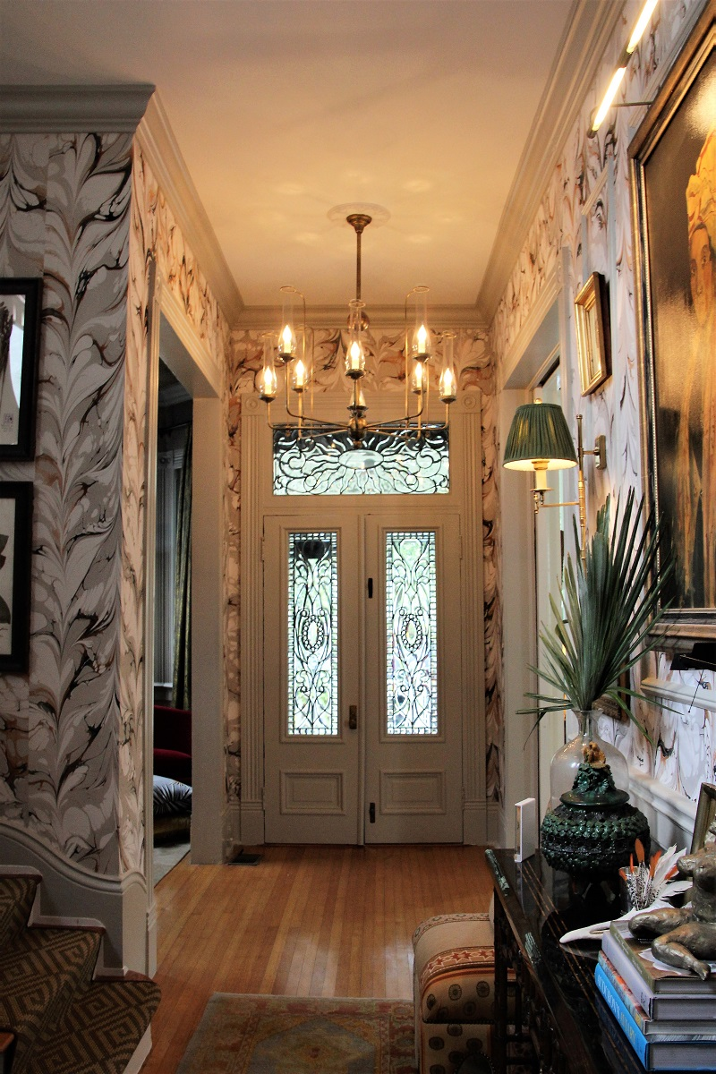 Traditional Home's Southern Style Now Showhouse in New Orleans, Front Entrance Doors