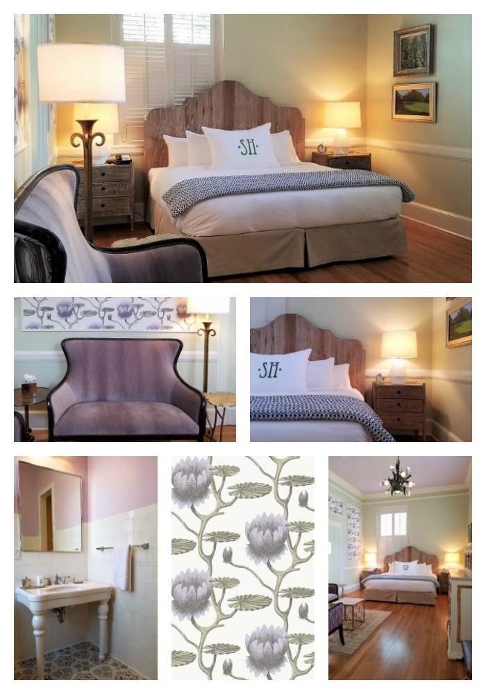 Garden House at Southern Hotel, Postmaster's Suite, eclectic classic glamour
